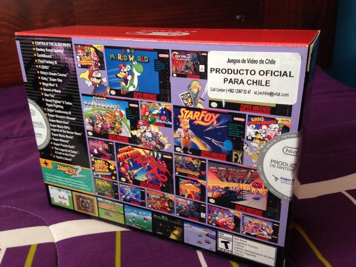 Mini Snes Classic Edition Envio Gratis 119 000 En Mercado Libre