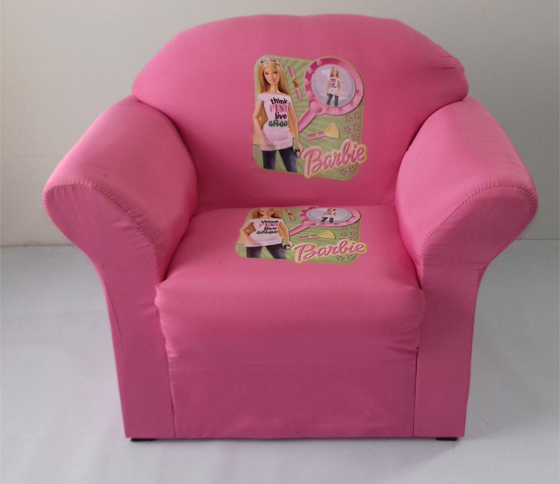 Mini Sofa Infantil Barbie Modelo Plus Lançamento 2017