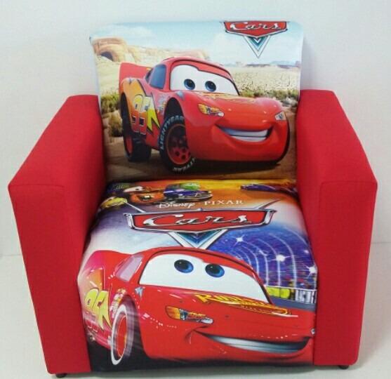 Mini Sofá Poltrona Infantil Cars Mcqueen