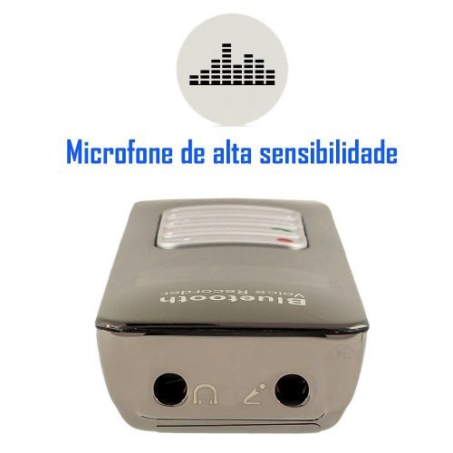 mini som portatil escuta celular radio mp3 microfone espiao