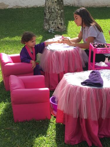 mini spa, casitas de muñecas, y alquiler de mobiliario