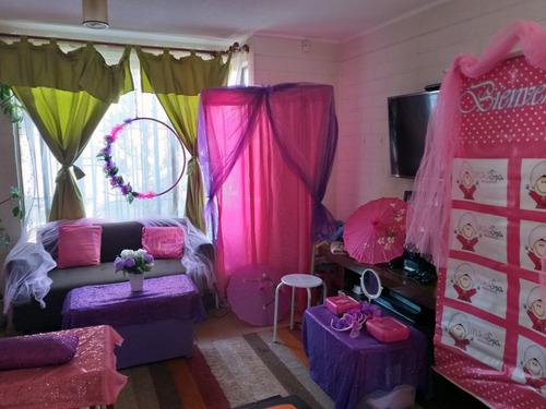 mini spa para niñas lolitas + taller de cintillos + regalito