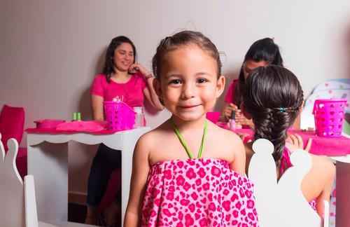 mini spa para niñas - servicio a domicilio