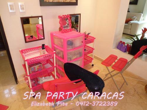 mini spa, spa infantil, peluqueria, spa niñas, party, fiesta
