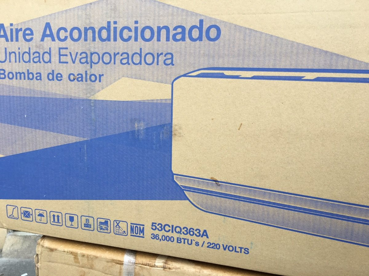 Mini Split Inverter Carrier 3 Toneladas Envio Gratis