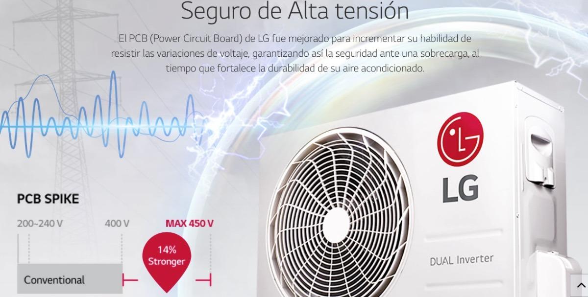 Mini Split Inverter Lg 1 Tonelada 12 Meses Sin Intereses