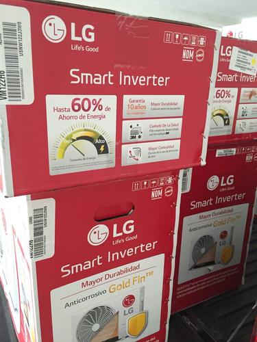 mini split inverter lg 1 tonelada vm122h6 envio gratis