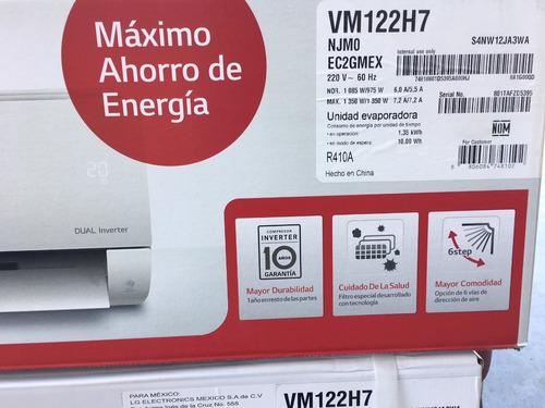 mini split inverter lg 1 tonelada vm122h7 envio gratis