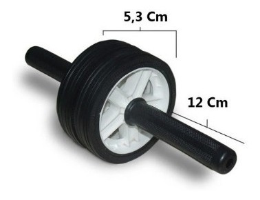 mini stepper 913 + rueda abdominal mundo gym