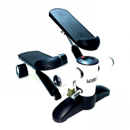 mini stepper lcd aparelho de ginástica exercício - live up