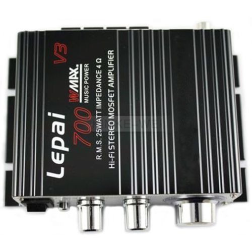 mini super bass amplificador de audio hi-fi stereo 25+5 car