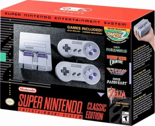 mini super nintendo classic edition hdmi snes garantía