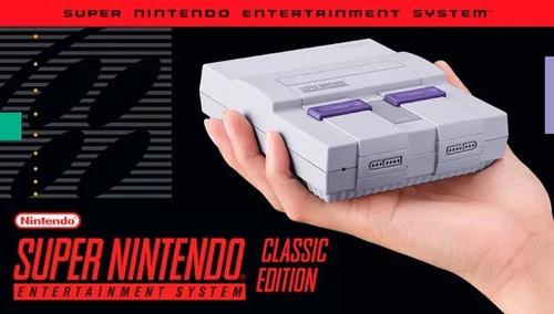 mini super nintendo classic edition hdmi snes garantía