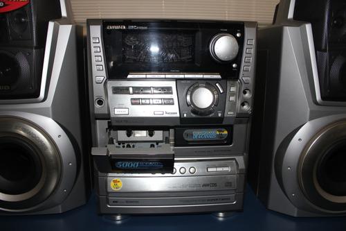 mini system aiwa nsx-t9 5000w pmpo