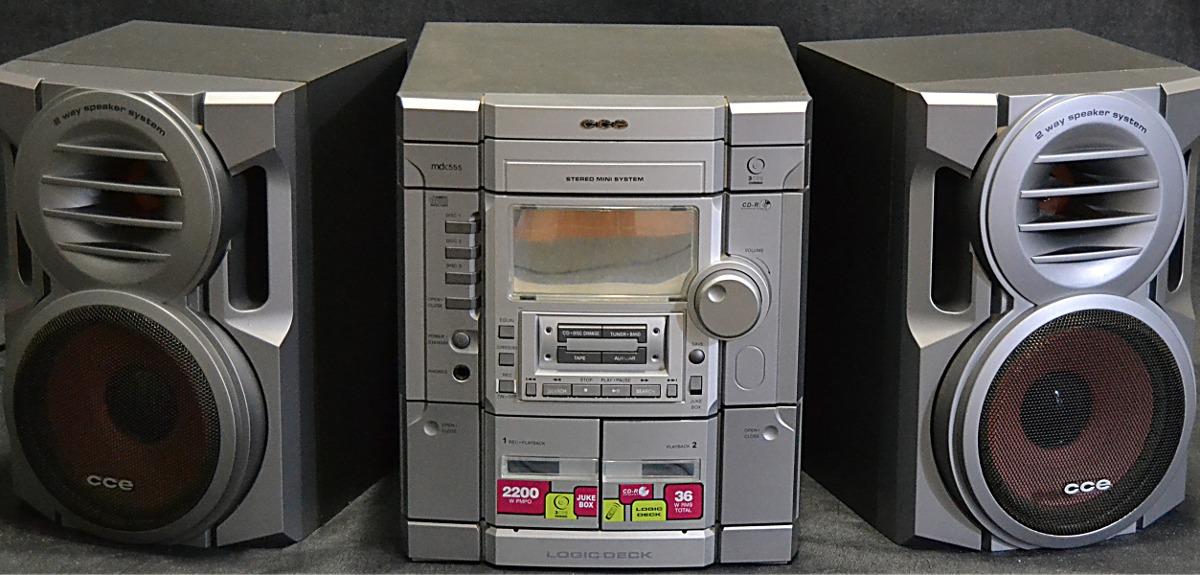 High Quality Mini System Cce (3 Cdu0027s Duplo Deck) ...