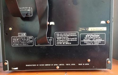 mini system jvc em excelente estado rx-mxm3 importado (baixei preço)