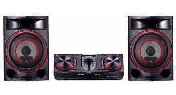 mini system lg 1800w bluetooth cd usb - cj87.abrallk