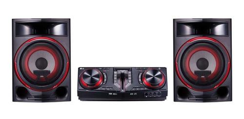 mini system lg, 1800w rms, multi bluetooth cj87