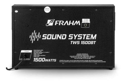 mini-system multiuso tws1500bt 150w frahm