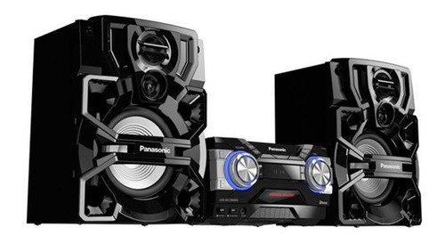 mini system panasonic 1800w bluetooth cd usb akx700lbk