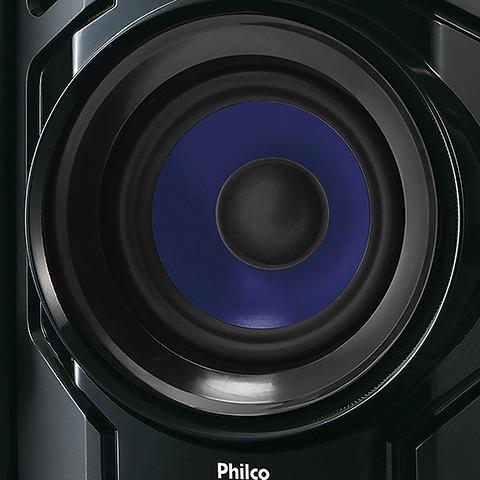 mini system ph650 entrada usb philco bivolt
