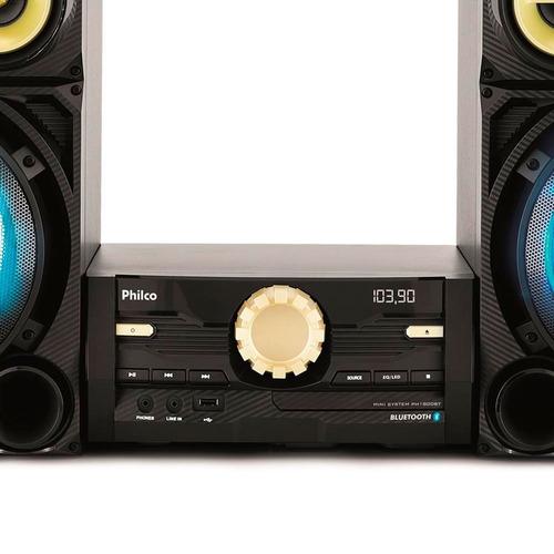 mini system philco 1600 watts bluetooth usb ph1800bt