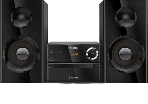 mini system philips btd2180/55 70 w rms bluetooth/dvd/cd/mp3