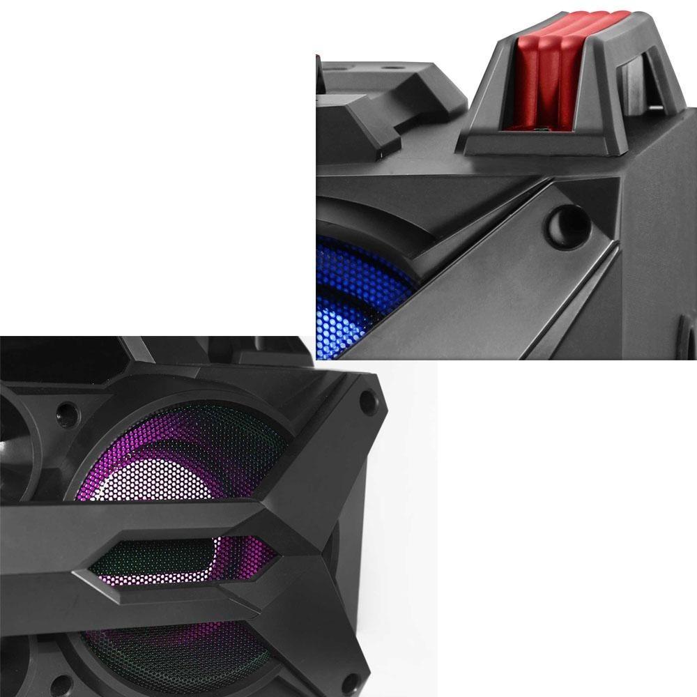 b04b64652 mini system portátil novik neo twister 4 com bluetooth. Carregando zoom.