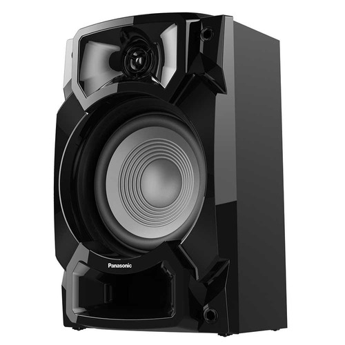 mini system sc-akx440lbk 2 usb, bluetooth - panasonic