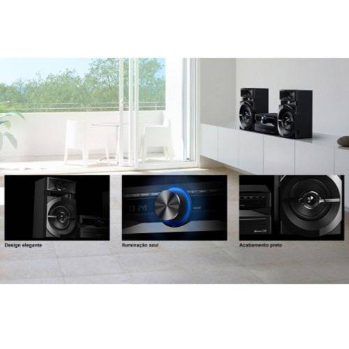 mini system  som panasonic 250w bluetooth cd usb -bivolt