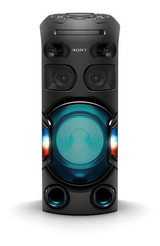 mini system sony v42d muteki tipo torre com dvd, controle po