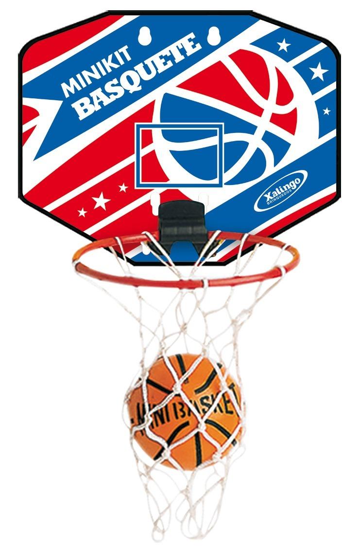 c350687465ac3 Mini Tabela De Basquete Com Bola Xalingo Mini Kit Basket - R  36