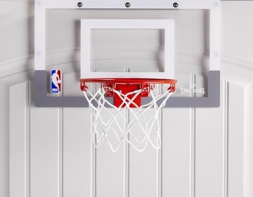 mini tablero aro red basquet spalding interior original nba