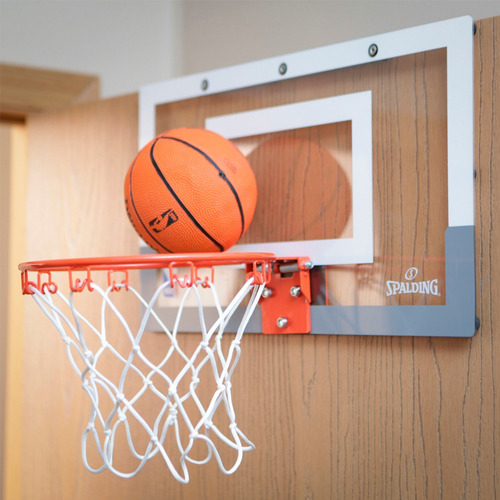 mini tablero basketball spalding arena slam + pelota basket