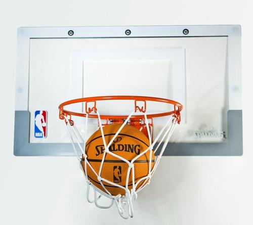 mini tablero basketball spalding nba