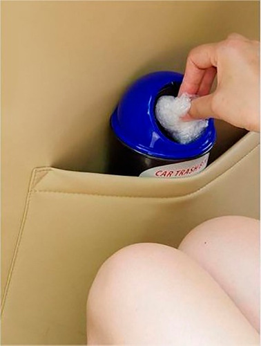 mini tacho de basura portatil para auto camioneta todo carro