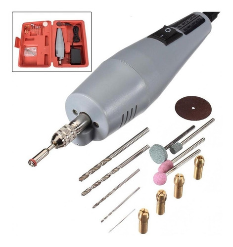 mini taladro para circuitos pcb manualidades 17 piezas