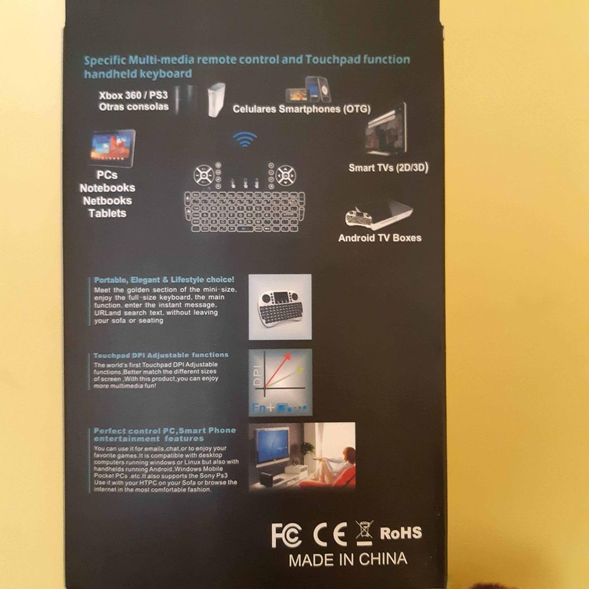 Mini Teclado + Alfawise A8 Tv Box Rockchip 3229 Android 8 1