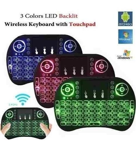 mini teclado bluethooth tv box  android ¡potentisimo! oferta