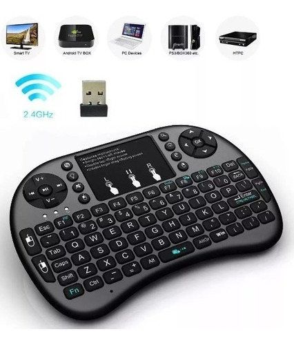 mini teclado bluetooth recargable laptop tv pc tienda 8694