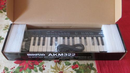 mini teclado controlador midi de 32 teclas, envío gratis