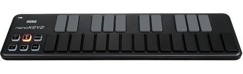 mini teclado controlador usb-midi 2 colores, korg nanokey2