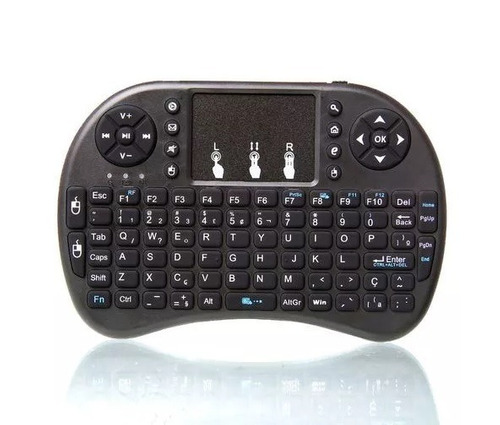 mini teclado controle sem fio para smart tv htv tv box pc