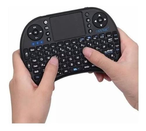mini teclado iluminado