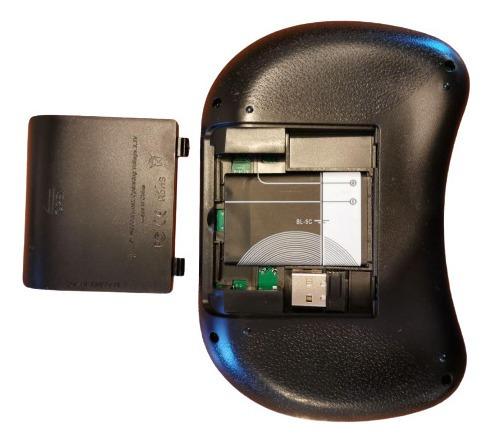 mini teclado inalámbrico backlit i8