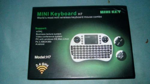 mini teclado inalámbrico con bluetooth