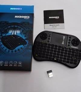 mini teclado inalámbrico, micronics, android y smart tv
