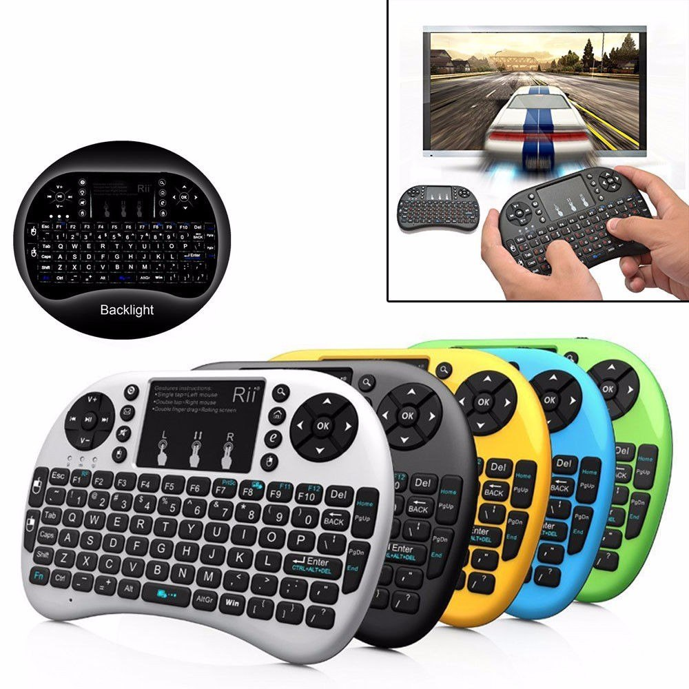 Mini Teclado Inalambrico Mouse Control Smart Tv Android Pc ...