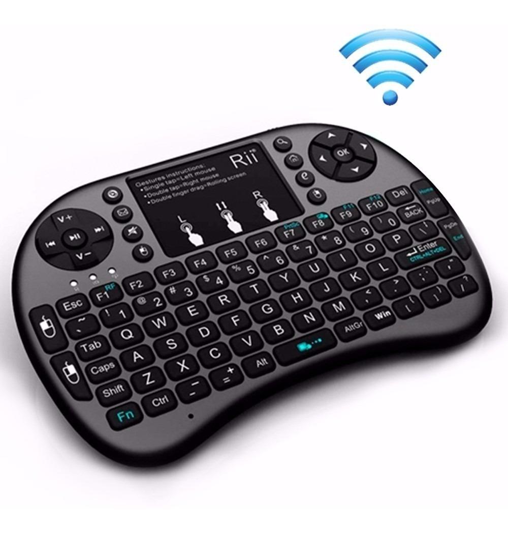 Mini Teclado Y Pad Mouse Wireless Nisuta Smart Tv Ns-wiktv76