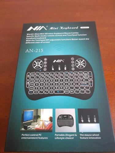 mini teclado inalambrico para tv, consolas y pcs